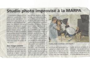 Rep Studio improvisé MARPA
