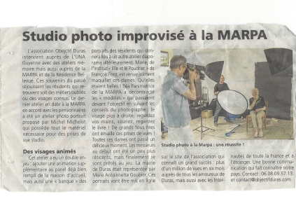 Rep Studio improvisé MARPA
