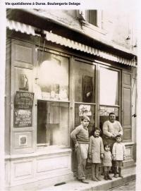 Duras14 vie quotidienne boulangerie Delage copie
