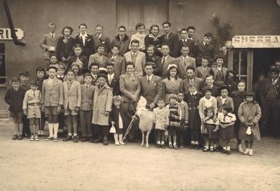 Fête agneau 1954